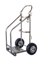 Dula Stainless steel pump cart frame only
