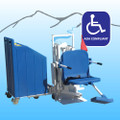 Aqua Creek Portable Patriot ADA Lift With Concrete Weight System