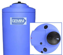 Peabody Gemini Containment-Cylindrical 65GAL/246L -Blue (01-29920)