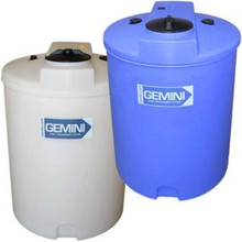 Peabody Gemini Containment-Cylindrical 120GAL / 454 L -Blue (01-14870)