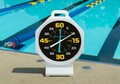 "Competitor 15"" White Pace Clock with Black Face Battery Powered - 200500"