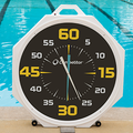 "Competitor 37"" Battery Powered Pace Clock with Black Face"