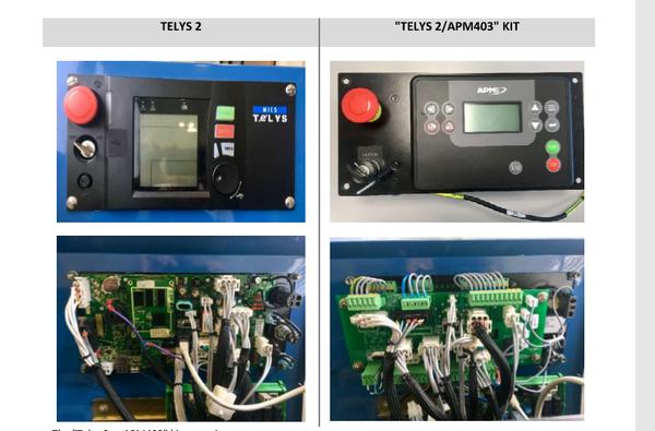 SDMO Telys II to APM403