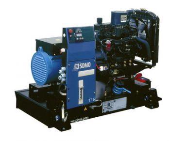 16 KW MITSUBISHI Generator 20 KVA, Three phase, SDMO T16U II ... J Sdmo Generator Wiring Diagram on