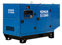 110 KVA JOHN DEERE Generator 88 KW, Three phase, SDMO J110K IV