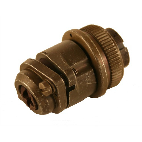 EC1000 - GAC 6 Pin Connector Manufacturer: Governors America Corp. Type: Connector Connection: Actuator Straight, Military Style