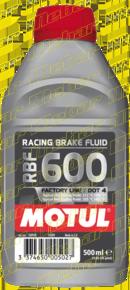 Motul BRAKE FLUID RBF 600FL - .5L