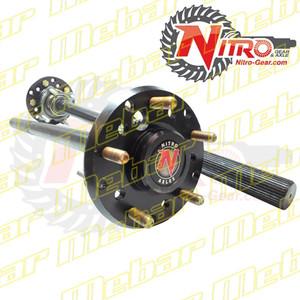 Nitro Gear & Axle Jeep JK Rear Dana 44 (Non-Rubicon) Chromoly Axle Shaft Assembly
