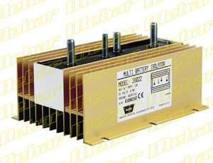 Warn 120-Amp Dual Battery Isolator
