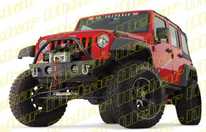 Warn Stubby Front Bumper JK With Tube