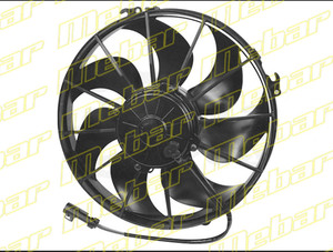 "Spal - 12"" Curved Blade Extreme Performance Fan Puller"