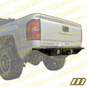 Mebar GM Truck [07+] Rear High Clearance Tubular Bumper With LED Light Mounts