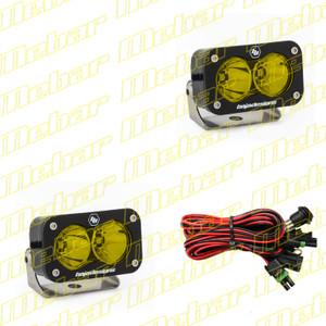 S2 Pro, Pair Spot LED, Amber
