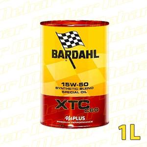 Bardahl XTC C60 Racing 15W50 MOTO, 1L