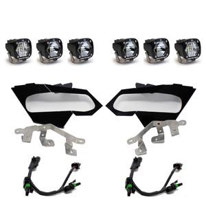 Can-Am X3 Headlight Kit: S1 Spot, S1 Spot, S1 W/C