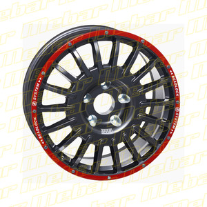 """Cross Country with Beadlock 18"""" x 8"""" [Standard Color]"""