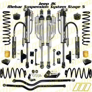 Mebar Jeep JK [07+] Suspension System Stage 5 - 4 DR