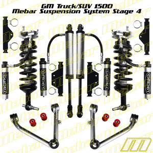 Mebar GM Truck 1500 [07-13] Suspension System Stage 4