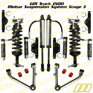 Mebar GM Truck 1500 [14+] Suspension System Stage 3