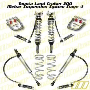 Mebar Toyota LC200/LX570 Suspension System Stage 4