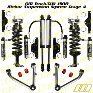 Mebar GM SUV 1500 [07-13] Suspension System Stage 4