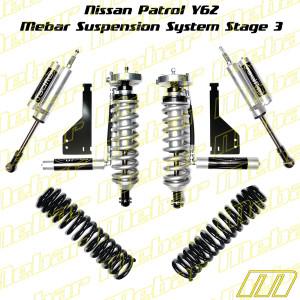Mebar Nissan Patrol Y62 [10+] Suspension System Stage 3