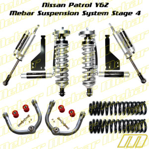 Mebar Nissan Patrol Y62 [10+] Suspension System Stage 4