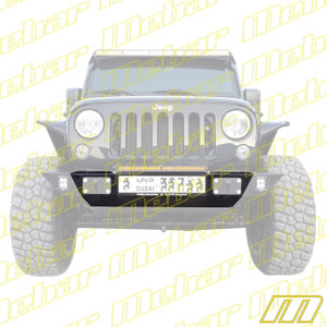 Mebar Jeep JK Ultra-Lite Shorty Bumper