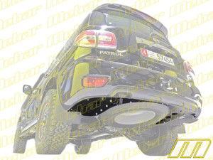 Mebar Nissan Patrol Y62 Rear Skid Plate