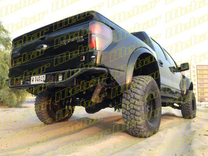 Mebar Ford Raptor [10+] Rear High Clearance Tubular Bumper With LED Light Mounts