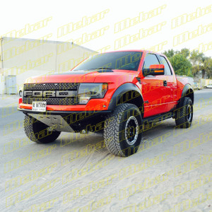 Mebar Ford Raptor [10+] Front Baja Bumper With Skid Plate