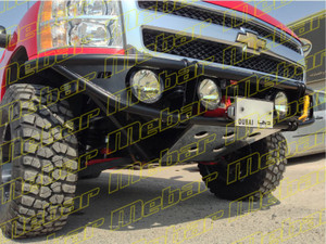 Mebar GM 1500 [07+] Front Baja Bumper with Winch Mount