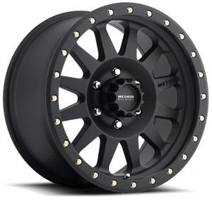 Method Race Wheels - Double Standard Black 17x8.5