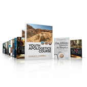 Youth Apologetics Course (2 Books + USB Flash Drive with 10 videos + Student Workbook + Teacher's Edition)