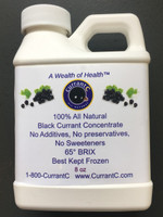 All Natural Black Currant Concentrate- 8oz sample