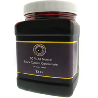 All Natural Black Currant Concentrate- 32 oz (Net Wt)