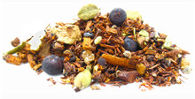 This healthful blend of organic rooibos and honeybush combined with stimulating guarana and freshly cut spices is a great way to recharge and boost your energy. Enjoy warm or cold. Naturally caffeine free.
