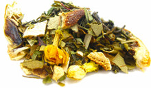 This uniquely formulated antioxidant-rich green and white tea blend features minerals that fortify the skin and help sustain health and hydration. Delicate and delicious. Try warm or cold.