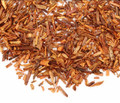 Rooibos, colloquially known as Red Tea, is an herbal plant that grows in South Africa. Rooibos is a flavorful alternative to tea for those seeking to minimize caffeine intake. Our 'Rooibos Vanilla' is a top-grade organic version, flavored with natural vanilla.