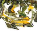 Premium white tea from Fujian region of China flavored with sweet peaches. A wonderfully smooth and subtle treat, delectable both hot and cold. If you are beginning your exploration of white tea, our peach tea will serve a wonderful introduction.