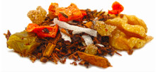 Enjoy hints of this perennial favorite as you sip this healthful blend of organic rooibos, real carrot bits, cinnamon, and walnuts. This herbal blend is high in beneficial antioxidants and naturally caffeine free. Try hot or cold.
