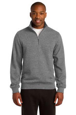 Quarter Zip Sweatshirt (Includes Logo)