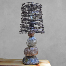Faux Granite Carin Lamp