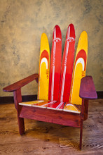Vintage Waterski Chair: Adirondack style
