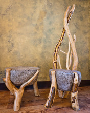Boulder Table and Chair Set