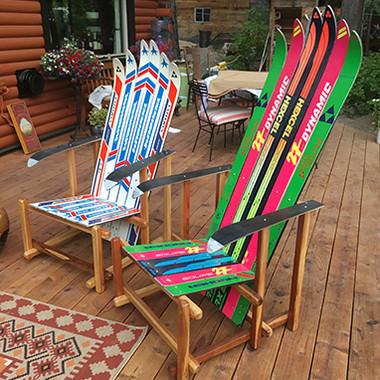 Sierra Ski Chair, an original design by Forest Furniture Tahoe