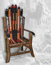 Yeti Ski Chair and Bench, an original design by Forest Furniture Tahoe