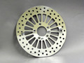 Rear Brake Rotor for Auto-Glide Polished Round Hole Style