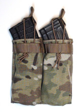 AK 47 molle magazine shingle holds two AK 47 magazines