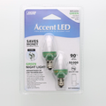 Feit C7 Green LED Light Bulb